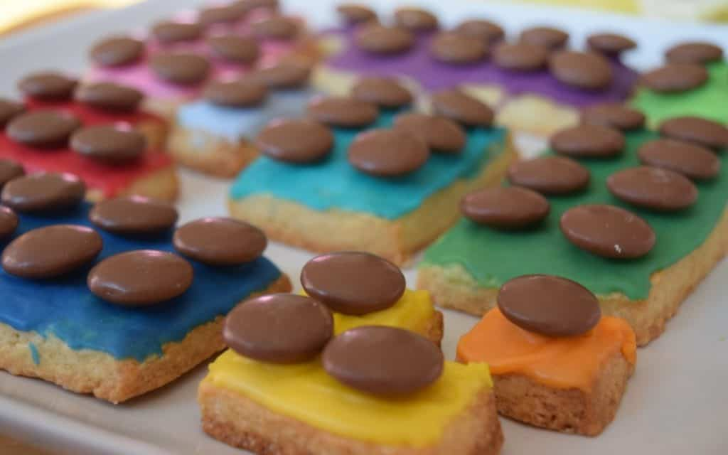numicons baking by numbers