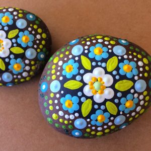 rock painting arts and crafts for schools