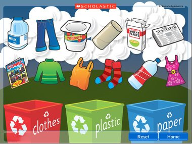 teaching resources for recycling scholastics